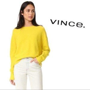 Vince Wool Cropped Sweater S